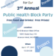 Public Health Block Party