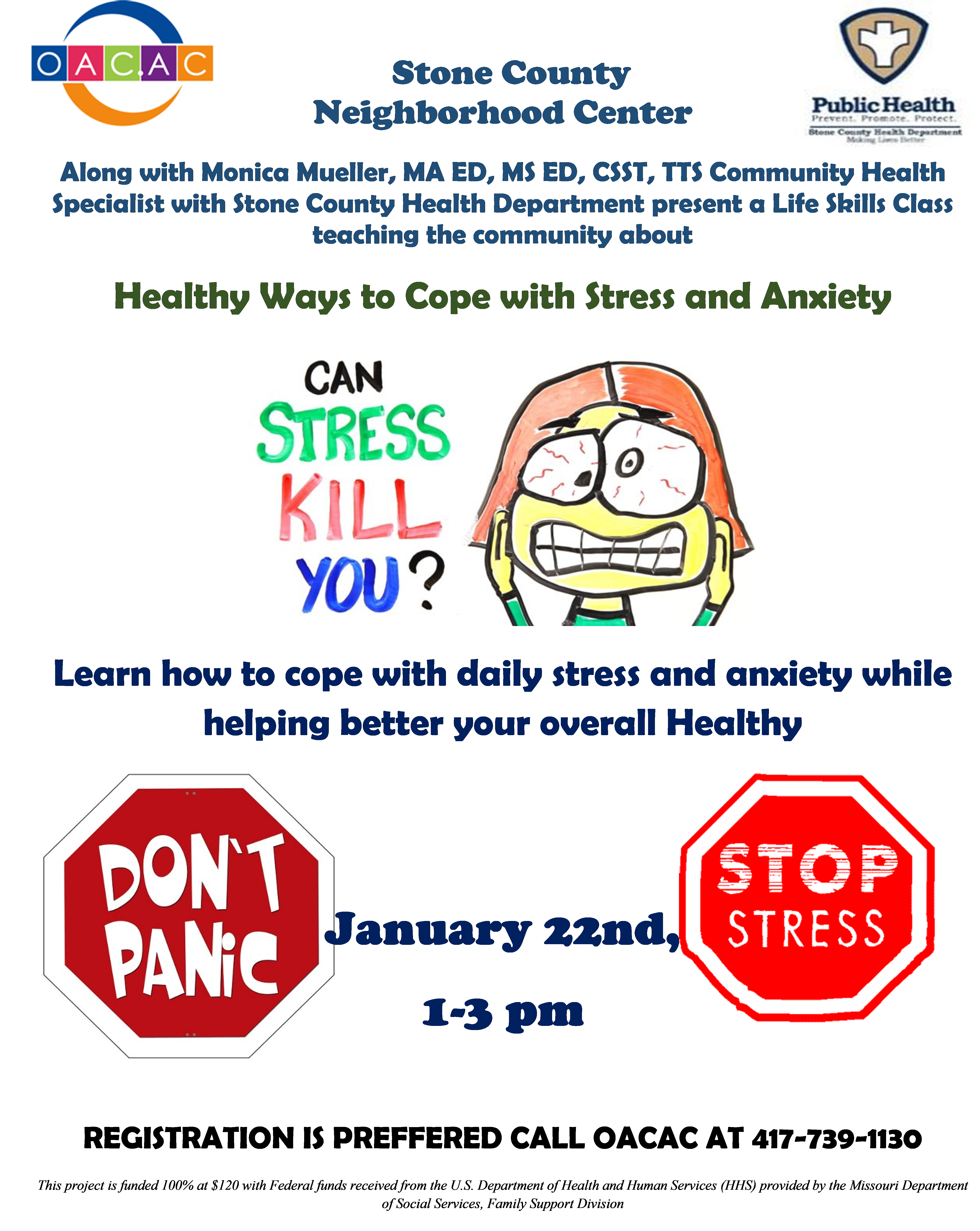 Teachers Report Stressed Anxious >> Healthy Ways To Cope With Stress And Anxiety Stone County Health